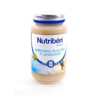 NUTRIBEN POTITO VERDURA SELECTA Y LENGUADO 250 G