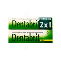 DENTABRIT FLUOR 125 ML 2 U