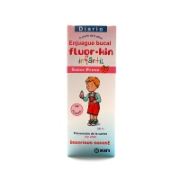 FLUOR KIN INFANTIL ENJUAGUE BUCAL FRESA 500 ML