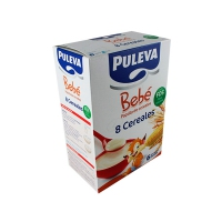 PULEVA BEBE PAPILLA 8 CEREALES CON FOS 500 G