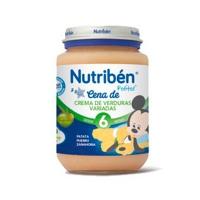 NUTRIBEN CREMA VERDURAS VARIADAS POTITO JUNIOR 200 G