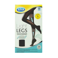 DR SCHOLL LIGHT LEGS MEDIAS DE COMPRESION 60 DEN T-S COLOR NEGRO