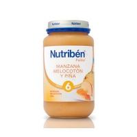 NUTRIBEN PLATANO NARANJA MANDARINA Y PERA POTITO GRANDOTE 250 G