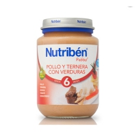 NUTRIBEN POLLO TERNERA VERDURA POTITO JUNIOR 200 G