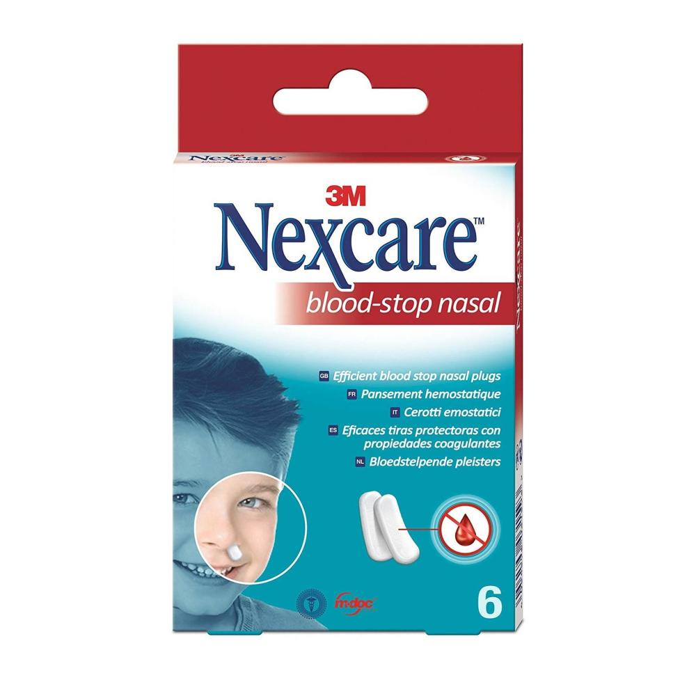 nexcare blood stop tapon nasal