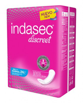 compresa indasec normal discreet 24