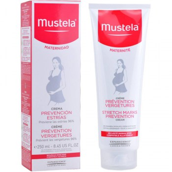 crema prevencion estrias mustela 250 ml