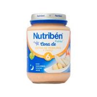 NUTRIBEN CENA CREMA VERDURA CON PAVO POTITO JUNIOR 200 G