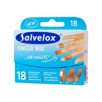 SALVELOX FINGER MIX SURTIDO 18 U