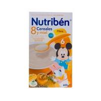 NUTRIBEN 8 CEREALES Y MIEL FIBRA 600 G