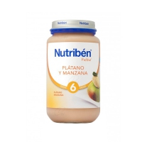 NUTRIBEN PLATANO Y MANZANA INICIO 250 G