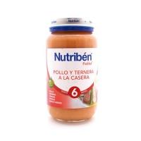NUTRIBEN POTITO POLLO TERNERA A LA CASERA 250 GR