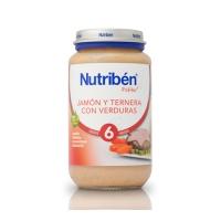 NUTRIBEN JAMON TERNERA VERDURA POTITO GRANDOTE 250 G
