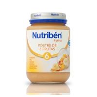NUTRIBEN POSTRE DE 6 FRUTAS POTITO JUNIOR 200 G
