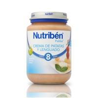 NUTRIBEN CREMA DE PATATAS LENGUADO POTITO JUNIOR 200 G