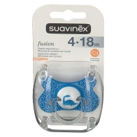 Chupete Suavinex Fusion Latex +4
