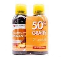 Forte Pharma Turboslim Drenante Sabor Melocoton 2x500ml