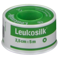 Leukosilk esparadrapos 2.5cmx5m 1 unidades