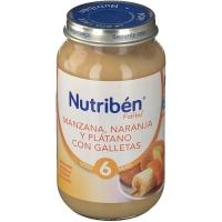 Nutriben Manzana Naranja y Plátano Galletas 250g