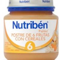 Nutriben postre 6 Frutas con Cereales 130 g